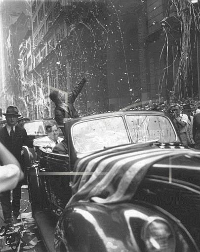 Associated Press Domestic News New York United States CORRIGAN TICKER TAPE PARADE