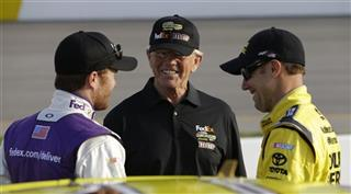 Joe Gibbs, M&lt;att Kenseth, Brian Vickers
