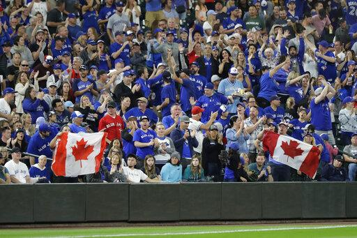 Blue Jays Mariners Baseball