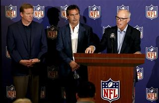 Roger Goodell, Jeff Fisher, Rich McKay
