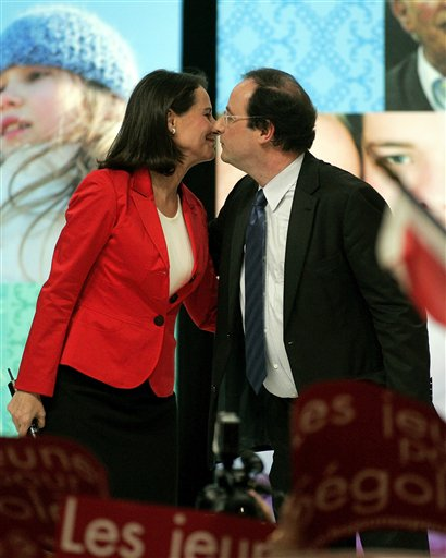 Segolene Royal, Francois Hollande