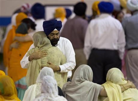 APTOPIX Sikh Temple Shooting