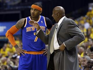 Mike Woodson, Carmelo Anthony