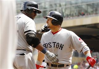 Shane Victorino, David Ortiz