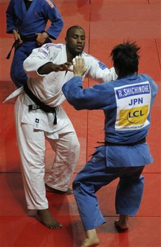 Teddy Riner, Ryu Shichinohe