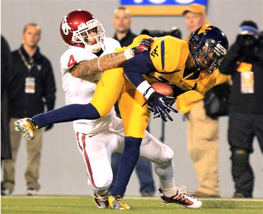 Oklahoma West Virginia Football