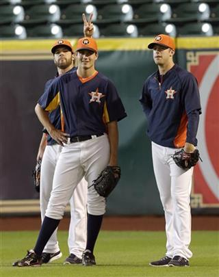 Mark Appel, Dallas Keuchel, Jordan Lyles
