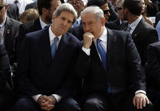 Benjamin Netanyahu, John Kerry