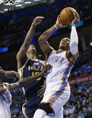 Russell Westbrook, Alec Burks