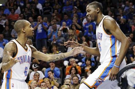 Kevin Durant, Eric Maynor