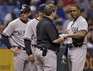 Rob Thomson, Curtis Granderson, Joe Girardi