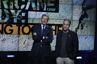 Brian Williams, Jon Stewart