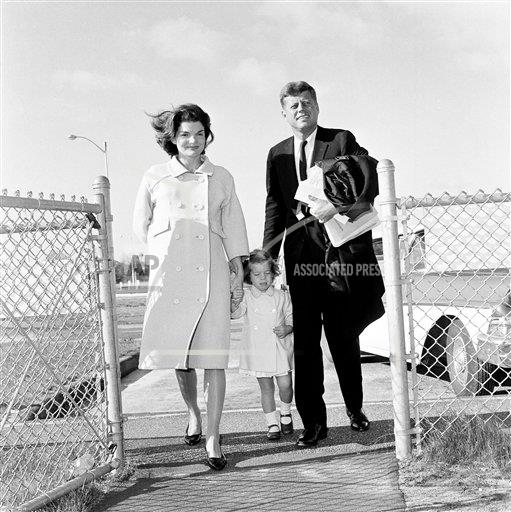 Watchf AP A   USA APHS262678 Senator John F. Kennedy Walks With His Wife Jacqueline