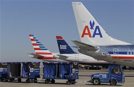 American US Airways Merger APTOPIX 