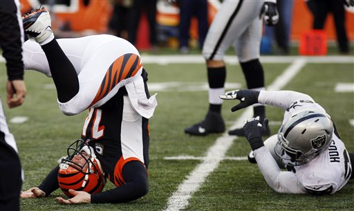 Andy Dalton, Lamarr Houston