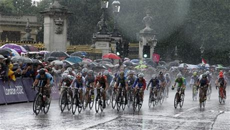 London Olympics Cycling Women