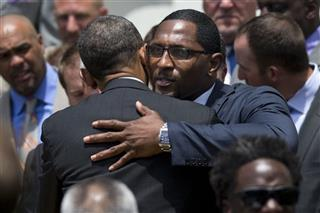 Barack Obama, Ray Lewis
