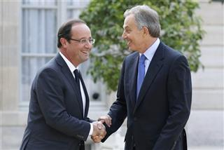France Elysee Hollande Blair