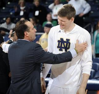 Jack Cooley,Mike Brey