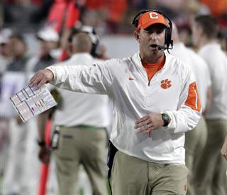 Championship Clemson Swinney Football