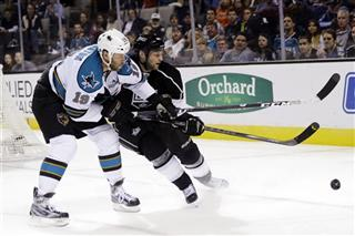Joe Thornton, Robyn Regehr