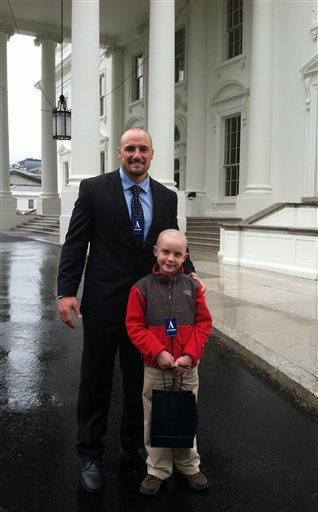 Jacks TD Run White House Football