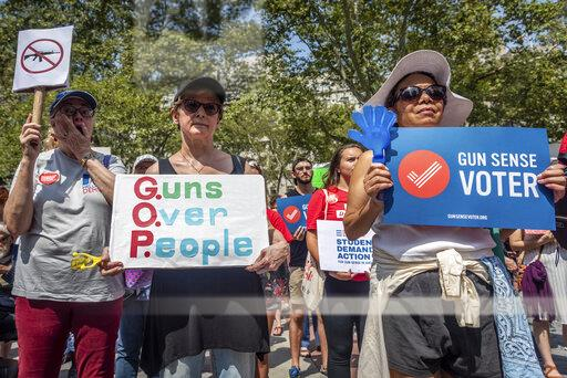 Recess Rally to Demand Gun Control Action