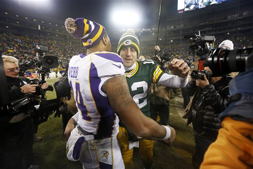 Joe Webb, Aaron Rodgers