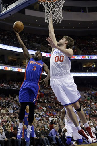 Spencer Hawes, Rodney Stuckey