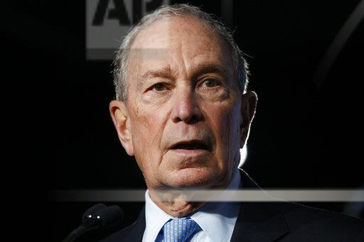 Election 2020 Mike Bloomberg