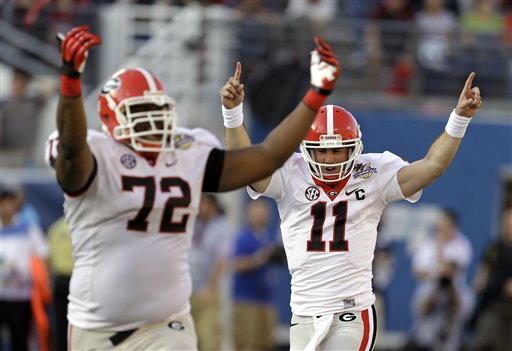 Aaron Murray, Kenarious Gates