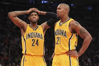 Paul George, David West