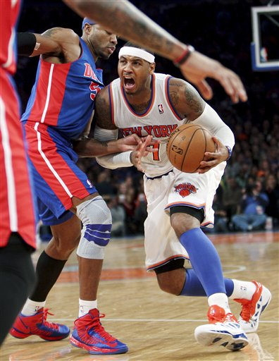 Carmelo Anthony, Corey Maggette