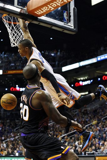 Russell Westbrook, Jermaine O&#039;Neal