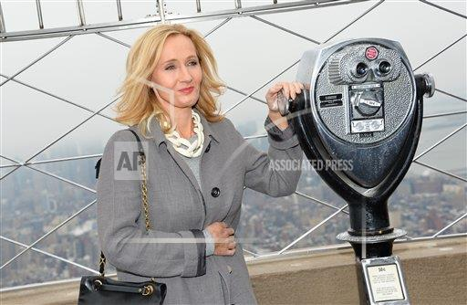 inVision Evan Agostini/Invision/AP a ENT NY USA INVW J.K. Rowling To Light Empire State Building