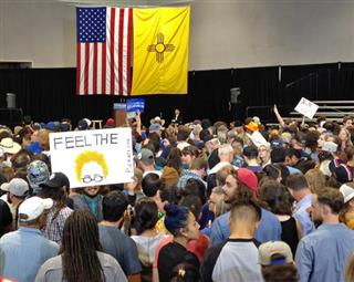 DEM 2016 Sanders New Mexico
