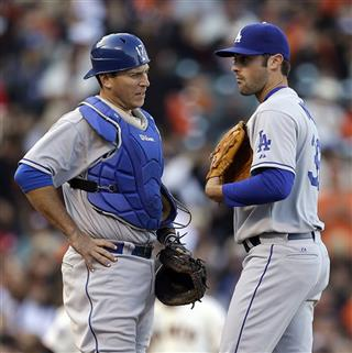 Matt Magill, A.J. Ellis