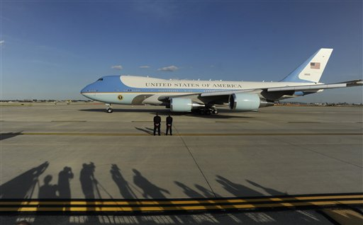 Barack Obama, Air Force One