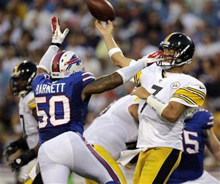  Ben Roethlisberger, Nick Barnett
