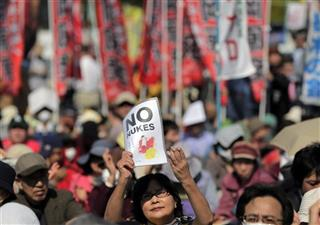 Japan Tsunami Nuclear Rally