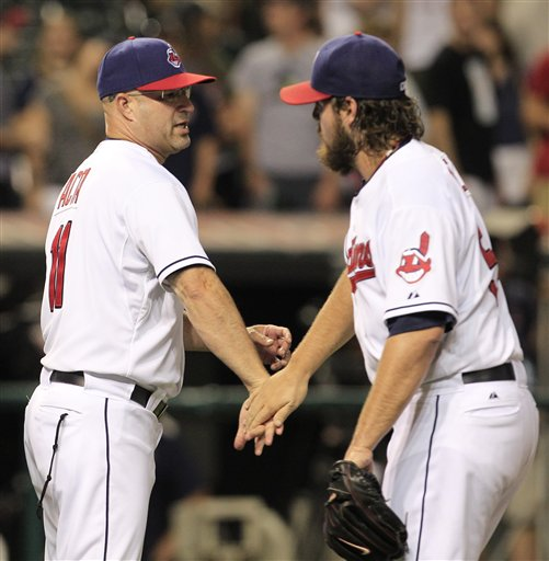 Manny Acta, Chris Perez