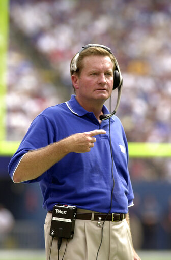 Jim Fassel Head Coach Of The New York Giants