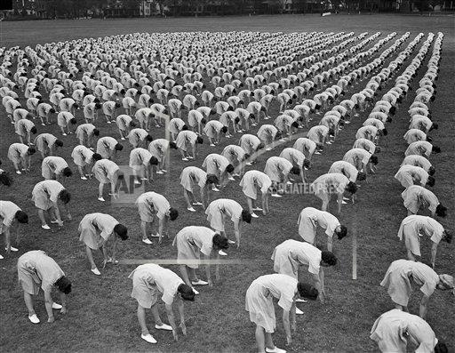 Watchf AP A  GA USA APHS466425 WWII U.S. Women Training