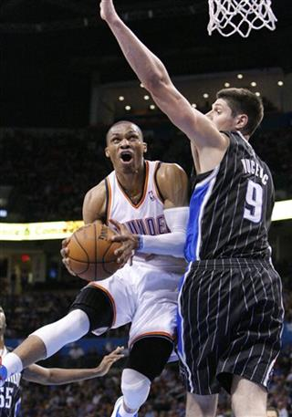 Russell Westbrook, Nikola Vucevic