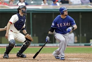 Josh Hamilton, Lou Marson