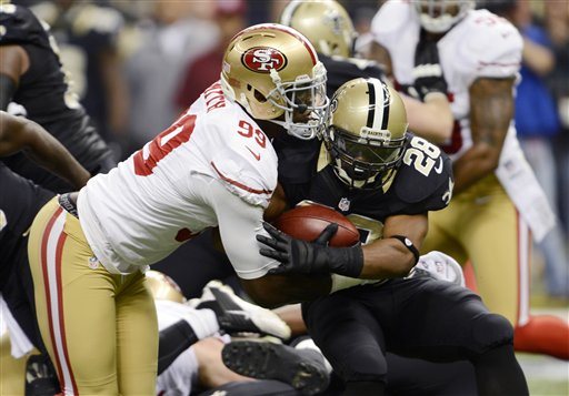 Mark Ingram, Aldon Smith