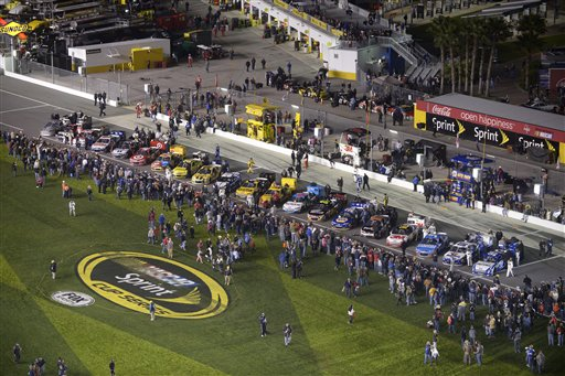 NASCAR Daytona Shootout Auto Racing