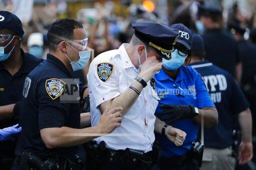 Police Death Protests NYC