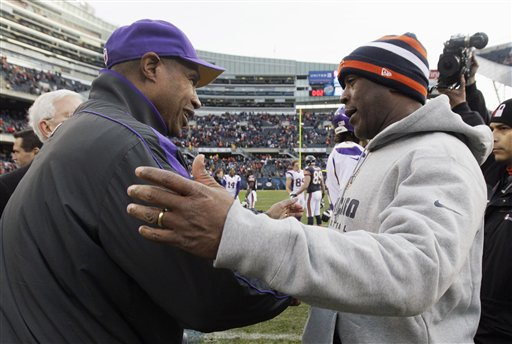 Lovie Smith. Leslie Frazier
