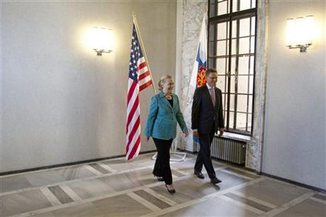Hillary Rodham Clinton, Jyrki Katainen